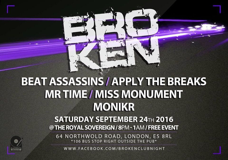 BEAT ASSASSINS Live at BROKEN
